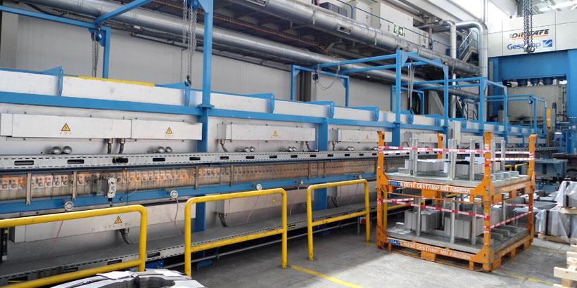 Diagnóstico Energético del calorifugado de calderas de procesos industriales para la empresa GESTAMP