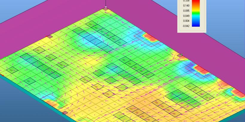Estudio termodinámico de un sistema de calefacción mediante suelo radiante