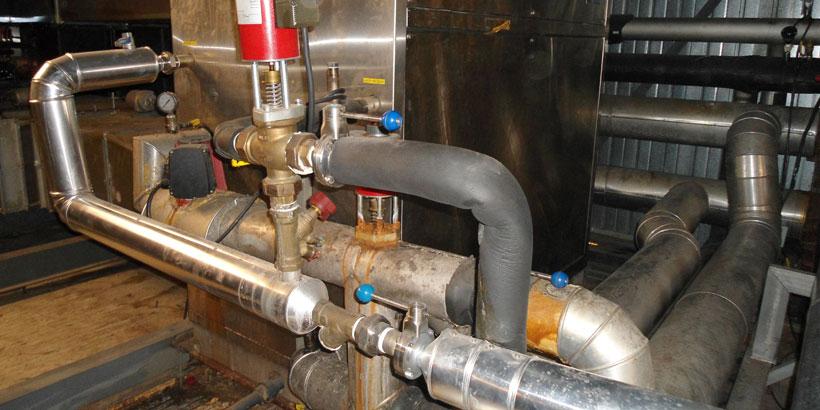 Cálculo para revalorización energética mediante calorifugado de las diferentes líneas de distribución de frío y calor de la empresa CASA TARRADELLAS