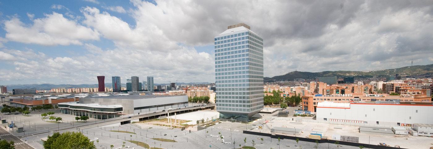 Sello BREEAM para el edificio Porta Firal Barcelona