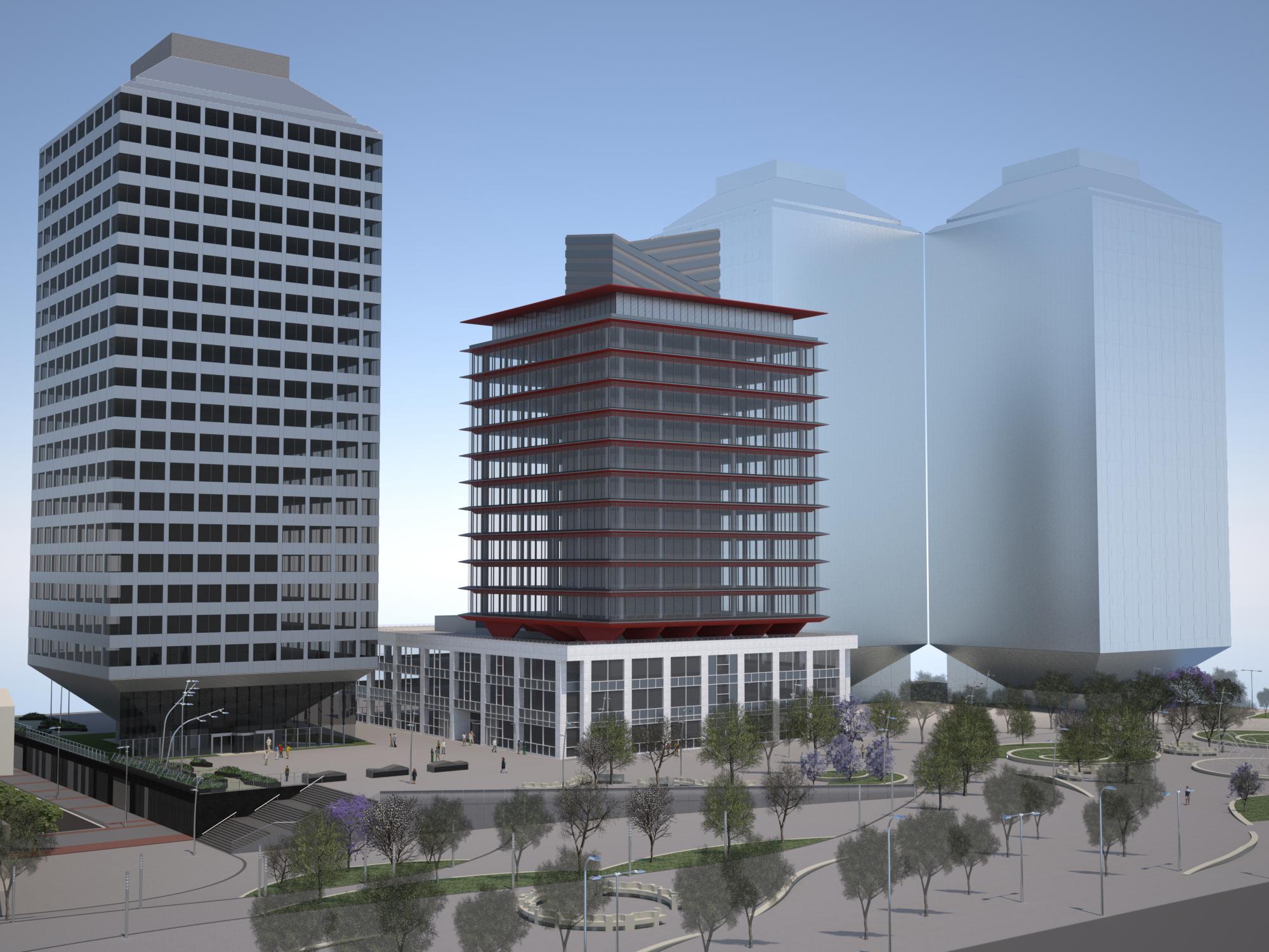 Ello breeam para el nuevo edificio torre marina de porta for Oficina de iberdrola en barcelona